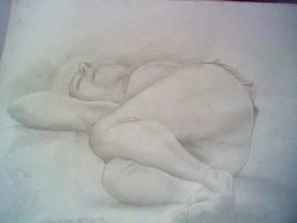 Old Lady- Drawing Class2 by NanamiDarkfox