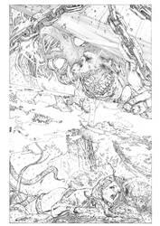 THE EVIL DEAD (pencil) by marcocastiello