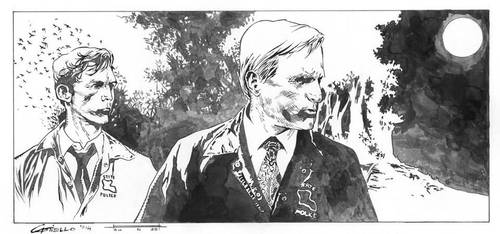 True Detective (inked) by marcocastiello