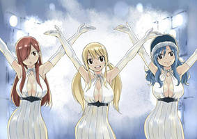 Happy new year from Fairy Tail by Fu-reiji