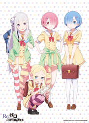Rezero Highschool by Fu-reiji