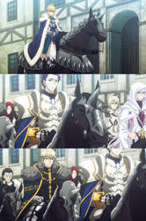 King Arthur and the Knights of the round Table by Fu-reiji