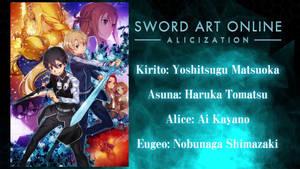 Sword Art Online Alicization by Fu-reiji