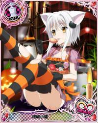 Koneko enjoying her treats by Fu-reiji