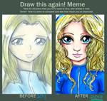 Draw This Again Meme 2 - Maria by WendySakana