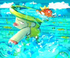 Splash~ by WendySakana