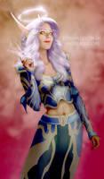 Blood Elf Priestess - Maharei by KrisCooper