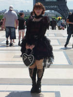 GOTHIC LOLITA IN PARIS by Chaosvin