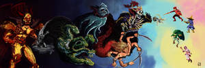 Final Fantasy 1 by RobertoMontesinos