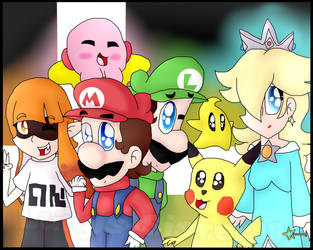 The SSBU Mains of Mine (SP) by Luigis-Sister18