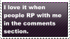 Comment RP stamp by fagonstar