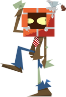 Brickhead Zombie by DevianJp824
