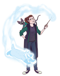 New Pottermore id by NatAsplund