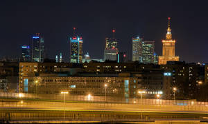 Postcard from Warsaw revisited by zeenon