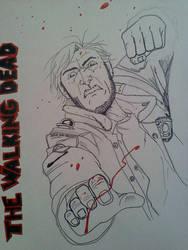 Walking Dead WIP by Spazbulb