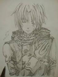 Allen Walker Sketch Drawing by DedyWalker