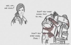 SPOILER ALERT!   The Last Of Us by Hanatsumi