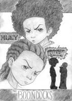 Huey and Riley by luvtuya