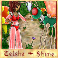 Telsha and Shine by luvtuya