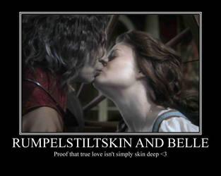 Rumpelstiltskin and Belle by PIPIpanda