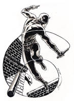 Daredevil - NYCC sketch by DanielGovar