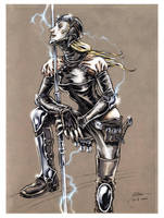 Lightning Lass by DanielGovar