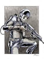 GI Joe Laser Trooper Flash by DanielGovar