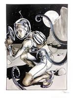 Spacegirl 2 by DanielGovar