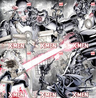 X-Ladies 6 Covers by DanielGovar