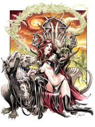 Goblin Queen 3 by DanielGovar