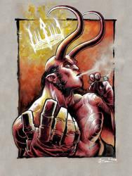 Hellboy by DanielGovar