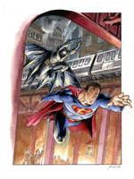 Superman Batman, World's Finest by DanielGovar