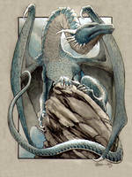 Blue Dragon 3 by DanielGovar
