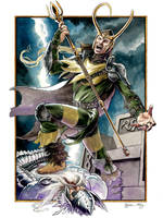 Loki Burns by DanielGovar