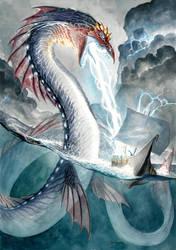 Lightning Serpent by DanielGovar