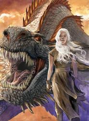 Daenerys 7 by DanielGovar