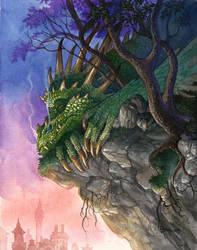 Dragon Snooze by DanielGovar