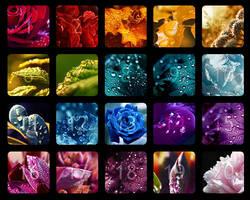 Waterdrops Calendar Winners by Lilyas