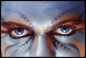 Blue Night Shadow by Lilyas