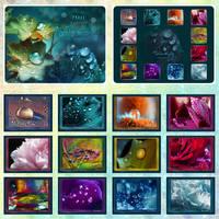 Waterdrops Calendar by Lilyas