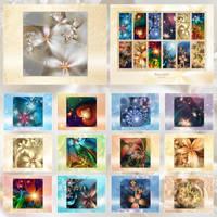 Satu Oli Fractal Calendar 2009 by Lilyas