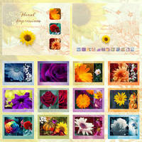 Floral Impressions CALENDAR by Lilyas