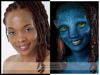 Na'vi: Before - After by Lilyas