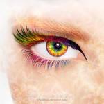 Rainbow Flower Power by Lilyas