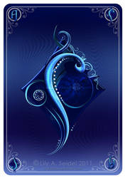 Ace of Diamonds CARD by Lilyas