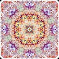 Tender Kiss - Mandala by Lilyas
