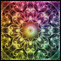 Arabesque - Mandala by Lilyas