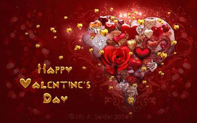 Happy Valentine's Day by Lilyas