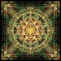 Sri Yantra Healing Mandala by Lilyas