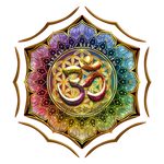 Flower of Life Lotus OM Mandala by Lilyas